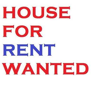 Wanted: House for rent September 1