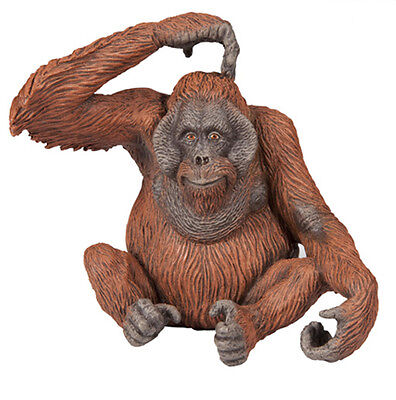 Papo 50120 Orangutan Wild Animal Ape Figurine Model Toy Replica Gift - NIP