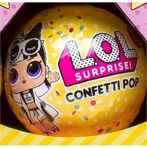 LOL SURPRISE CONFETTI POP BALL! SERIES 3, WAVE 2 *NO DUPLICATE DOLLS* BIG SISTER