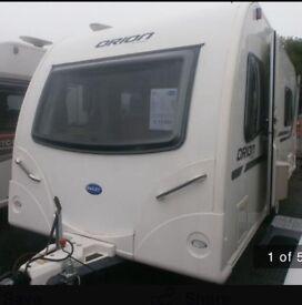 Bailey Orion 460-5 (5 berth) beginners family caravan