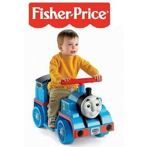 NEW FISHER PRICE THOMAS THE TRAIN - 112314538 - POWER WHEELS - THOMAS THE TRAIN ENGINE RIDE ON TOY