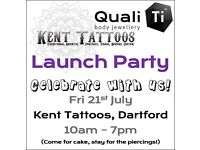 QualiTi Jewellery Launch Party at Kent Tattoos!