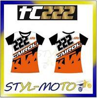 T-shirt Da Donna Ufficiale 2017 Tony Cairoli 222 Mtk Racing Moto Gp Tg L -  - ebay.it