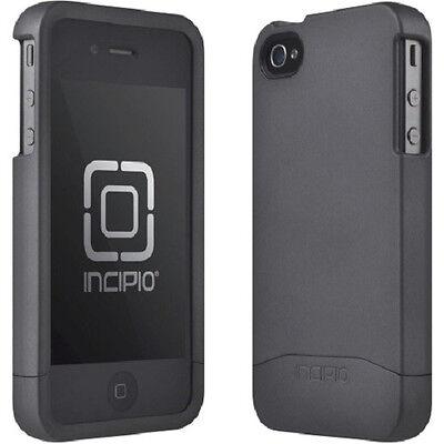Incipio iPhone 4 iPhone 4s EDGE Slider Hard Shell Shockproof Case Matte Black