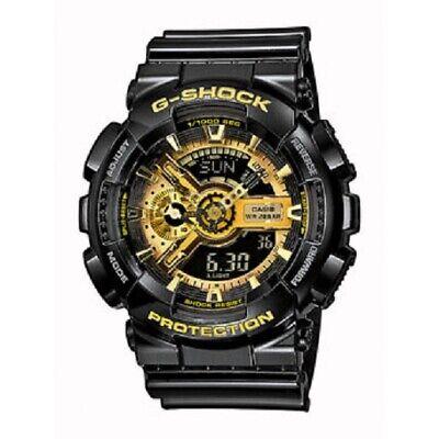 Casio Uhr G-Shock Uhr Herrenuhr Analog Digital GA-110GB-1AER NEU & OVP