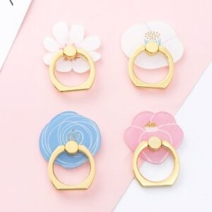 Flower Finger Ring Holder/ Phone Ring Stand/ Grip/ 360 Rotating