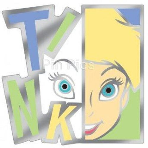Disney Modern Art Series Tinker Bell Letters TINK Limited Edition 300 pin