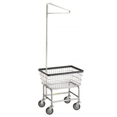 Standard Laundry Cart w/ Single Pole Rack* Model Number 100E91