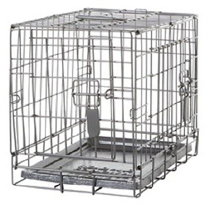 Dogit Two Door Black Wire Home Dog Crates with divider XSmal