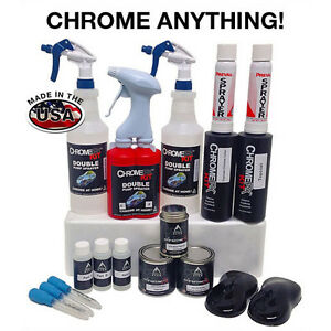 Spray on chrome kit ebay