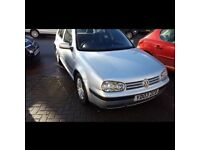 2003 VW Golf Automatic/Petrol