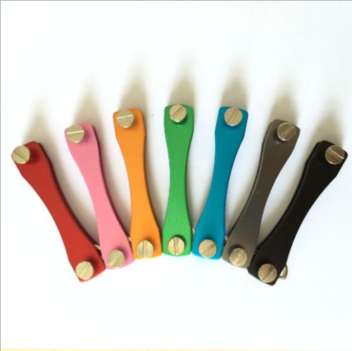 7 colors alloy smart key holder keyring