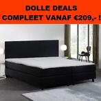 *Outlet* Boxspring Bravo Compleet - 2 Persoons vanaf €299,-!