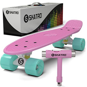 Skateboard - Skatro Mini Cruiser - Pink