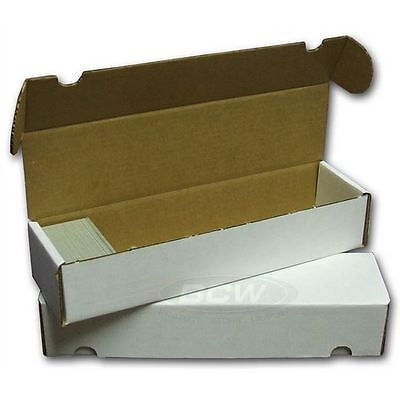 800 Count Cardboard Card Storage Box - Holds 700 Standard /1140 Gaming Cards - 800 Count Storage Box