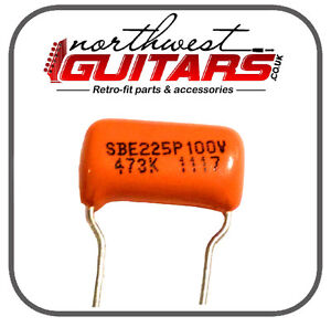 Sprague-Orange-Drop-Capacitor-047uf-for-Strat-Tele-Gibson-Etc