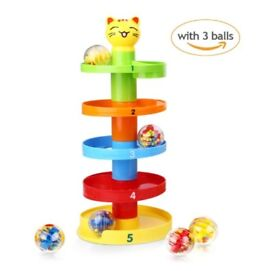 Toy Toddlers Educational Puzzle Rolling Ball