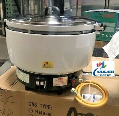 New Coolerdepot Lp Gas Commercial Rice Cooker 80 Cups Propane