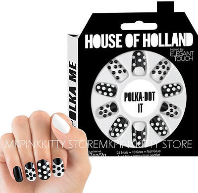 House Of Holland Nails By Elegant Touch -  POLKA DOT >> NEW