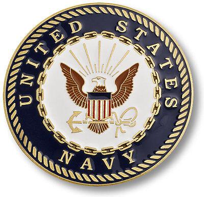 "U.S. Navy Seal - USN Adhesive Challenge Medallion 1 3/4"" Inch"
