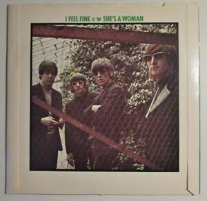 Vintage The Beatles 45 - I feel fine c/w She's a woman West Island Greater Montréal image 2