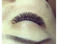 Eyelash extensions and make up!!