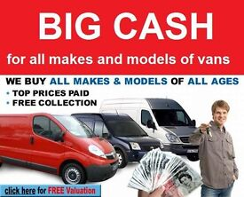 IF YOU ARE LOOKING TO SELL YOUR COMMERCIAL VEHICLE THEN PLEASE CALL US TODAY WE BUY ANY VANS