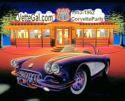 Vette Gal 1953-62 Corvette Part