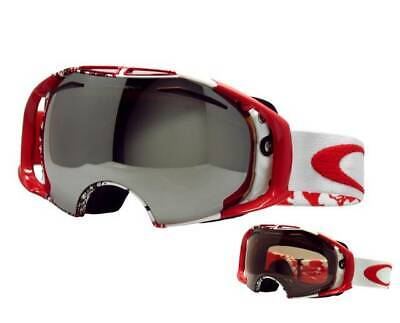 New Oakley Airbrake Snow Goggles Seth Morrison/Black Iridium + VR50 Ski 59-222J, used for sale  Shipping to Canada