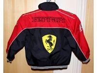 Child's FERRARI coat - Brand NEW