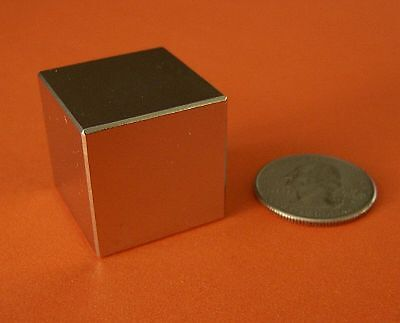 1 Piece Of 1 Inch Rare Earth Neodymium Cube Magnet 1x1x1 103lbs Pull Force