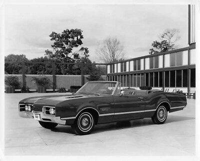 1967 Oldsmobile Delmont 88 Convertible Press Photo 0114