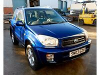 Toyota Rav 4 NRG 2.0L VVT-i 4x4 Metallic Blue £2245 ono