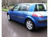 ((( AUTOMATIC - LOW MILEAGE ))*RENAULT MEGANE 1.6 *(PANORAMIC ROOF)*LOW INSURANCE+MOT- MAY 2019