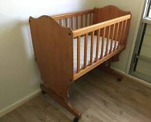 Timber Baby Bassinet/Cradle - Rocking Rapid Creek Darwin City Preview