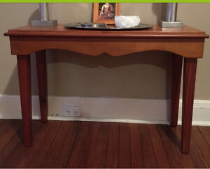 PINE TIMBER HALL TABLE Concord Canada Bay Area Preview