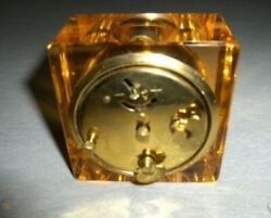 Vintage Dunhall Desk Clock made in Germany