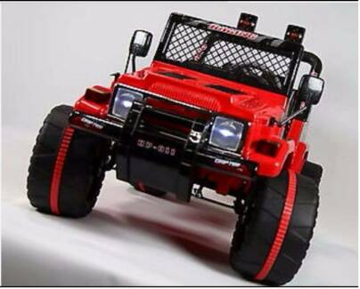Most popular 12 Volt Jeep *(two Seater)* with Parental Remote Greenacre Bankstown Area Preview