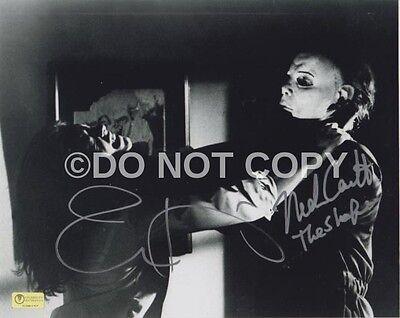 Halloween Jamie Lee Curtis Nick Castle Signed Autograph Reprint - Lee Curtis Halloween