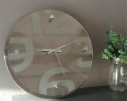 modern contemporary wall clock