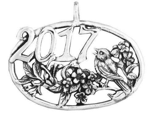 Hand & Hammer 2017 Bird ornament