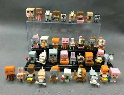 NEW 36pcs/lot Minecraft More Characters Hanger Action Figure Toys Cute Gift UK