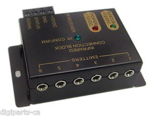 IR-Remote-Control-Extension-Repeater-Kit-infrared-distribution-block-extender-6