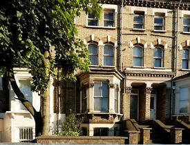 great 1br Victorian flat for 12 months rent in West Kensington