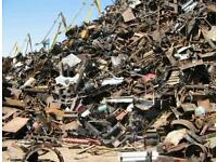 Scrap metal/Rubbish. PAY BEST PRICE CASH all areas un London