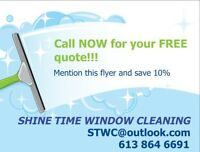 SHINE TIME WINDOW CLEANING