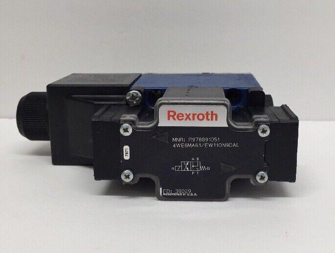 Bosch Rexroth R978891051 Directional Control Valve