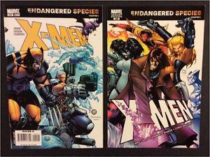XMEN #200, MARVEL COMICS ENDANGERED SPECIES 3 COMICS