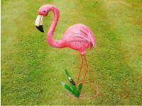 Garden flamingo