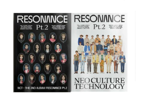 US SHIPPING NCT-[RESONANCE PT.2] The 2nd Album SELECT CD+Poster/On+Photocard+etc